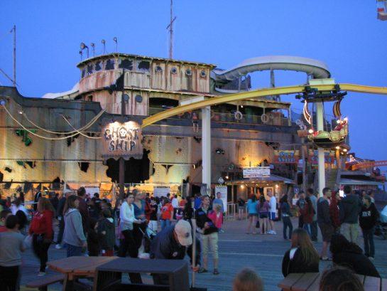 Morey's Pier - Ghost Ship