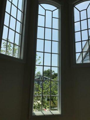 windows leading to third floor