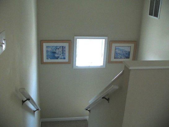 Steps to Top Master Suite, Full Bath, and Fifth Bedroom, perfect for privacy.