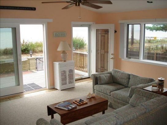 Bay Views from the living room as far as the eye can see. -Furn has been updated