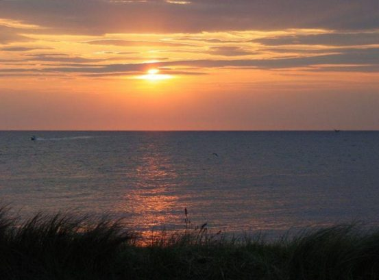 The Sunset View from the front deck. Yours for the duration of your stay.