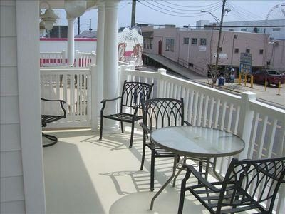 Balcony With View To The Boardwalk Entry Ramp