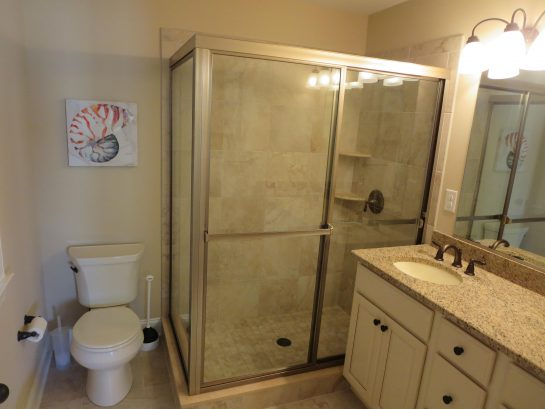Master Bathroom - connected to Bedroom #1