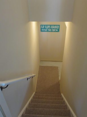 Private Entrance - Leads to garage & outdoor shower