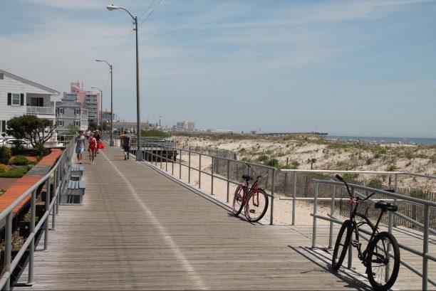 Boardwalk view at 18th St