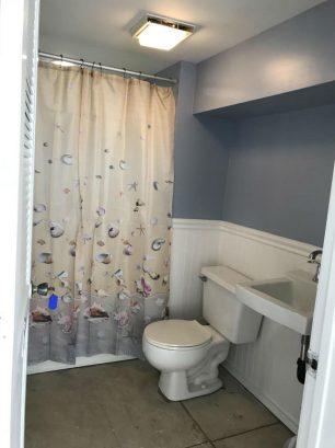 3rd Bathroom - on the Ground Level - easy access from the beach  - use FULL BATHROOM - shower before going upstairs or use the facilities and run back to the beach - without going upstairs :)