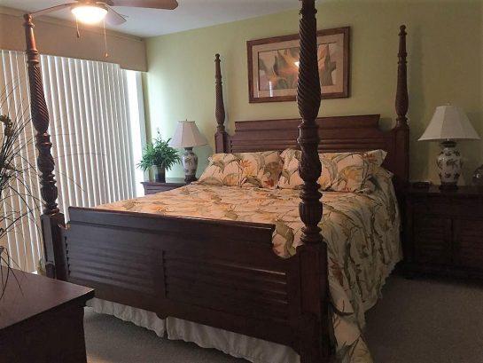 Master Bedroom with Slider