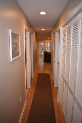 View Down Hallway from Bedrooms