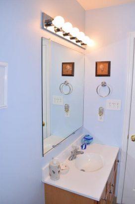 Sink in Jack and Jill Bathroom