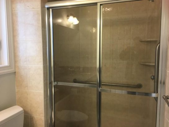 first floor hall bath-shower