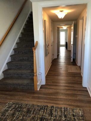 entry foyer looking into hallway
