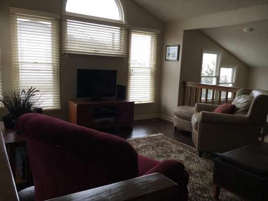 Third floor Loft with pull-out queen size couch