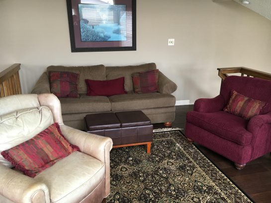 Third Floor Loft with pullout couch