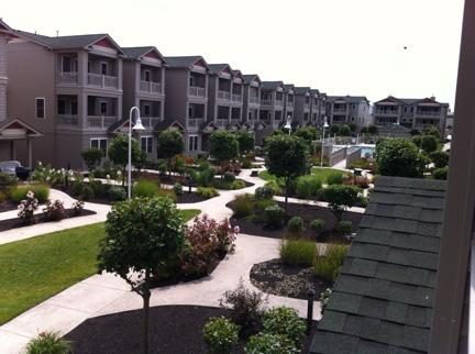 Wildwood Square Courtyard.