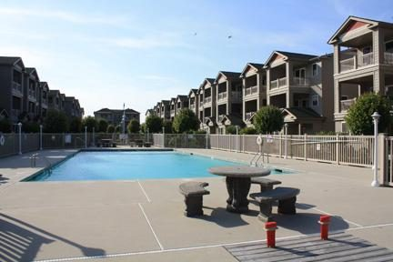 Wildwood Square community and pool.