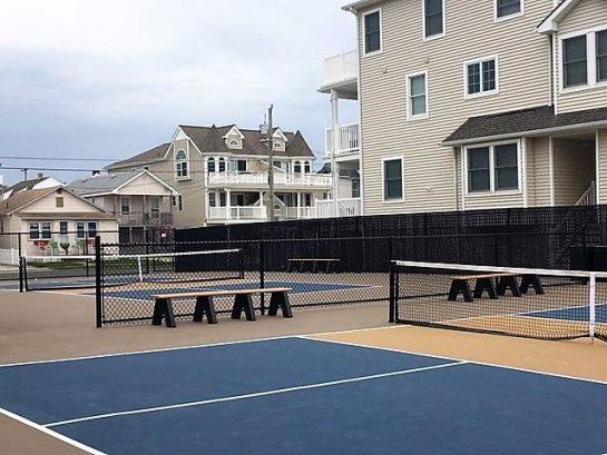 Tennis Courts short distance away
