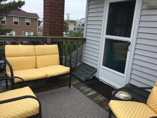 Deck and Entrance to 2nd Floor Apartment (Rear of House)