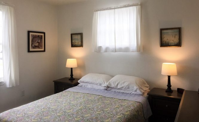 1st Floor Apartment - Bedroom #1 - Queen Sized Bed