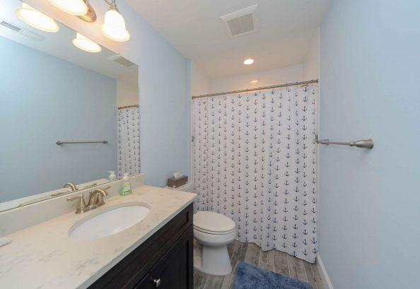 Bathroom # 3 - hallway bathroom with tub shower