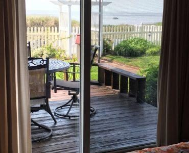Your view from the Master bedroom.  Enjoy your coffee on the deck!