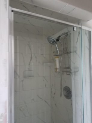 bathroom #1 - with shower