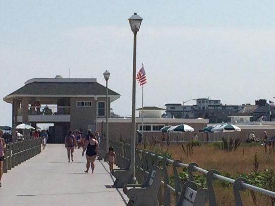 SL boardwalk to North Pavilion