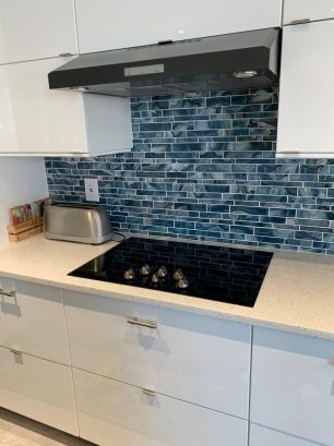 New flat top cooktop