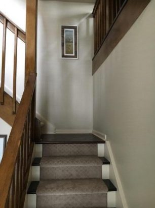 Stairs in to Second Floor