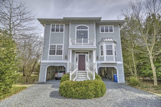 Escape to Bethany Beach and enjoy this elegant and spacious 5-bedroom, 4.5-bathroom vacation rental house!