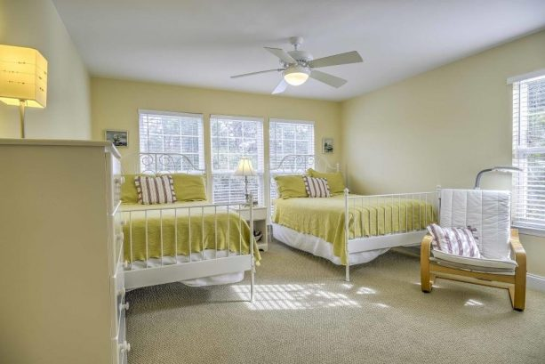 With 8 comfortable beds throughout the house, 12 guests can sleep soundly at this amazing home.