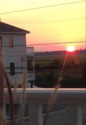 Sunset View from Front Deck